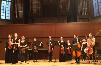 Chamber orchestra of Geneva University of Music